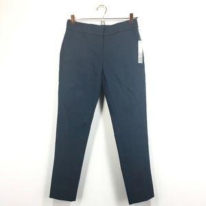 New Loft 0 Pants Navy Blue Marisa Skinny Ankle Fit